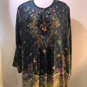 Silk Sami blouse